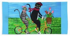 Kitty Cat Outing Hand Towel