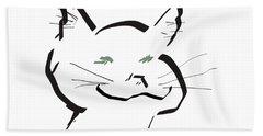 Kitty Hand Towel