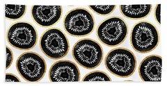 Kiwi Pattern Hand Towel
