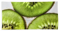Kiwi Hand Towel by Shirley Mangini