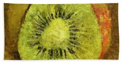 Kiwifruit Bath Towel