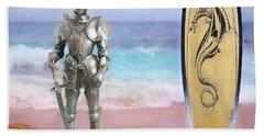 Hand Towel featuring the painting Knights Landing by Michael Cleere