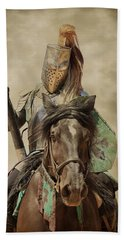 Hand Towel featuring the photograph Knights Tale by Steve McKinzie