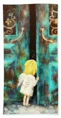 Knocking On Heaven's Door Hand Towel