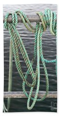 Hand Towel featuring the photograph Knot Of My Warf II by Stephen Mitchell