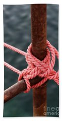 Knot On My Warf IIi Hand Towel by Stephen Mitchell