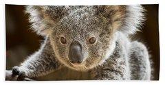 Koala Kid Hand Towel by Jamie Pham