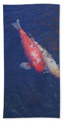 Koi Fish Partners Hand Towel