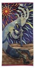 Kokopelli Spring Bath Towel