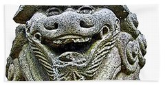 Komainu04 Bath Towel