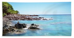 Kona Hawaii Reef Hand Towel by Joe Belanger