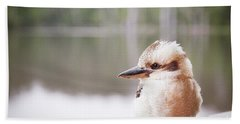 Hand Towel featuring the photograph Kookaburra by Ivy Ho