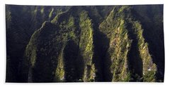 Koolau Range, Oahu Bath Towel
