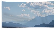 Hand Towel featuring the photograph Kootenay Lake South by Cathie Douglas