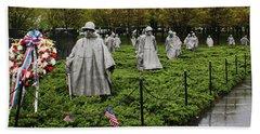 Korean War Veterans Memorial Hand Towel