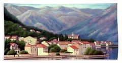 Kotor Montenegro Bath Towel