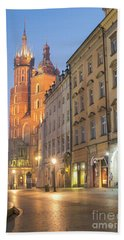 Hand Towel featuring the photograph Krakow by Juli Scalzi