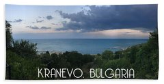 Kranevo Bulgaria Hand Towel