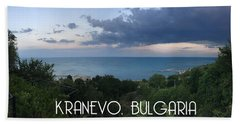 Kranevo Bulgaria Bath Towel