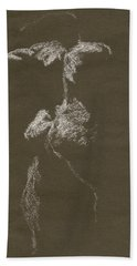 Kroki 1997, Pre.3 Vit Krita, Figure Drawing White Chalk Hand Towel