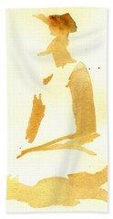 Kroki 2015 03 28_29 Maalarhelg 3 Akvarell Watercolor Figure Drawing Bath Towel