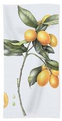 Kumquat Bath Towel