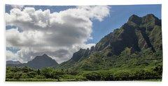 Kuoloa 3 Mountain Range Hand Towel