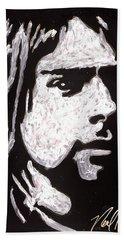 Kurt Kobain Hand Towel