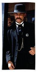 Kurt Russell As Wyatt Earp Tombstone Arizona 1993-2015 Hand Towel