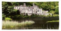 Kylemore Abbey Victorian Ireland Bath Towel