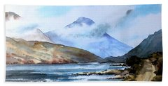 Kylemore Lough, Galway Bath Towel