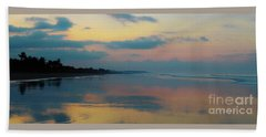 la Casita Playa Hermosa Puntarenas - Sunrise One - Painted Beach Costa Rica Panorama Hand Towel