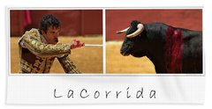 La Corrida Bath Towel