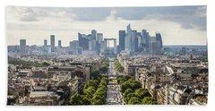 La Defense Paris Hand Towel