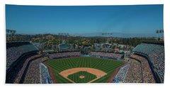 La Dodgers Stadium Baseball 2087 Bath Towel
