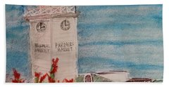La Farmer's Market Hand Towel