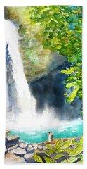 La Fortuna Waterfall Hand Towel