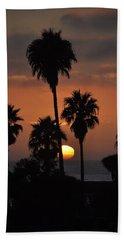 La Jolla Sunset Hand Towel