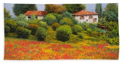 La Nuova Estate Hand Towel by Guido Borelli