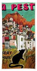 La Peste  Albert Camus Poster Hand Towel