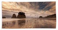 La Push Sunset Bath Towel