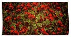 La Sevilliana Roses Hand Towel