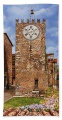 La Torre Del Carmine-montecatini Terme-tuscany Bath Towel