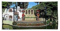 La Vallita - Day Of The Dead Bath Towel by Joseph Hendrix