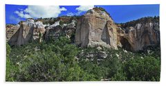 Hand Towel featuring the photograph La Ventana Arch by Gary Kaylor