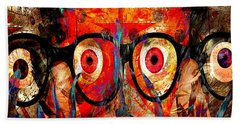 Label The Brain Through The Eyes - Lords Of Madness Hand Towel