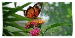 Lacewing Butterfly Bath Towel