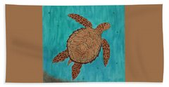 Lacey's Sea Turtle Hand Towel