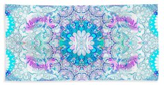 Lacy Mandala Bath Towel