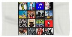 Ladies And Gentlmen The Rolling Stones Bath Towel